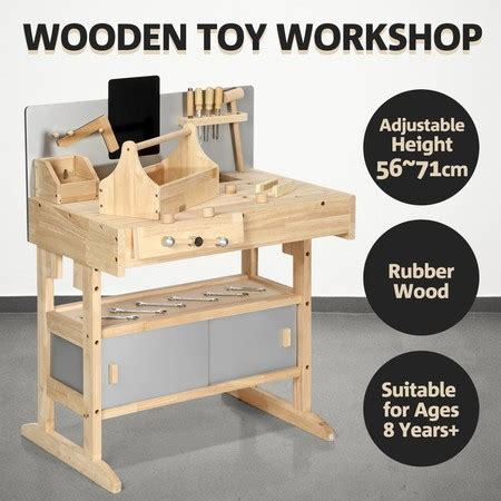 Tool Box Bench Wooden Toys workbench wooden tool bench workbench workshop