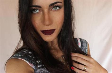 Ombre Lipstick Burgundy ombre burgundy for fall paperblog