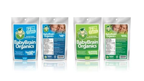 design contest packaging packaging design contests 187 baby brain organics packaging