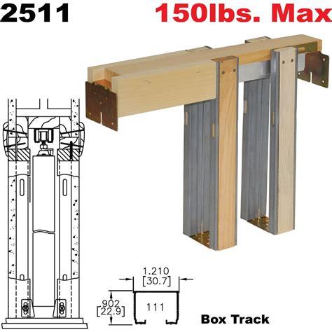 36 Pocket Door Kit by Johnson Hardware 2511 Pocket Door Frame Johnsonhardware