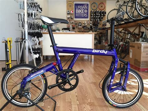 Birdy New Classic By Delcell by Birdy New Classic Suspension Folding Bike In Blue Yelp
