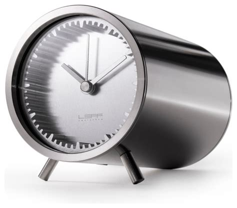 modern desk clocks desk clock steel modern desk and mantel clocks