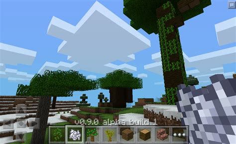 minecraft 0 9 0 apk mcpe minecraft pocket 0 9 0