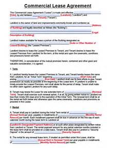 Commercial Lease Agreement Template Pdf Free New Jersey Commercial Lease Agreement Pdf Template