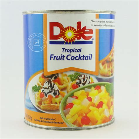 Tropical Fruit Cocktail Dole 水果罐头 dole tropical fruit cocktail 热带水果 822g