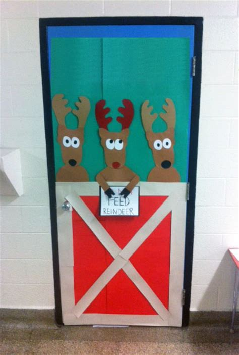 christmas door decorations classroom artisan des arts themed door