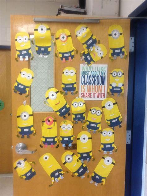 Minion Classroom Decor by Best 20 Minion Classroom Door Ideas On
