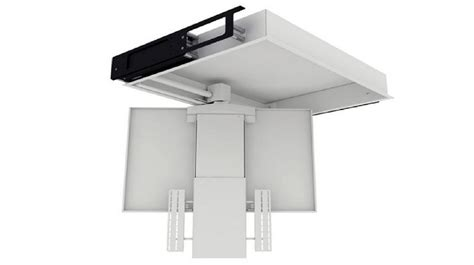 staffa soffitto tv staffe motorizzate per tv a soffitto idea di casa