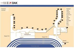 airport terminal map airport terminal map oakland international airport