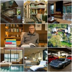 gallery for gt bill gates house interior