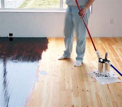 how to stain hardwood floors yourself wood floor do it yourself project