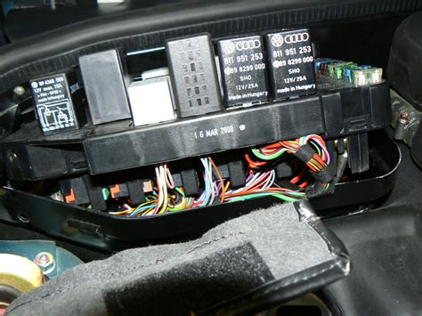 Porsche 964 Rear Fuse Box Wiring Diagram