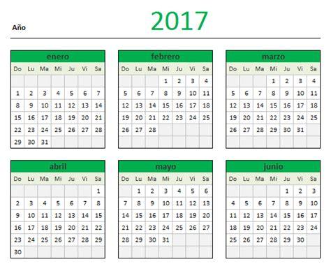 Calendario Octubre 2017 Excel Descarga Tu Calendario 2017 En Excel Aplica Excel