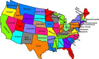 United States Map With States Maps Of The United States Maps Of The United States