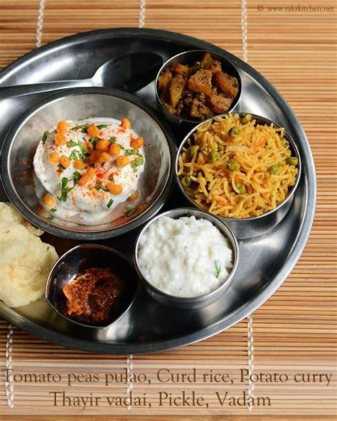 Raks Kitchen Tomato Rice by 28 Best Thalis Images On Cook Desserts And