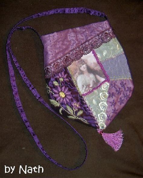 Cq Sewing And Patchwork - i quilting embroidery purple cq bag