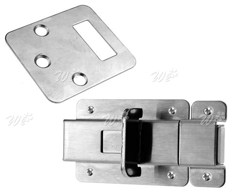 open bathroom door lock stainless steel open closed indicator bolt toilet bathroom