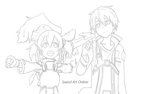 sword art online by porea on deviantart