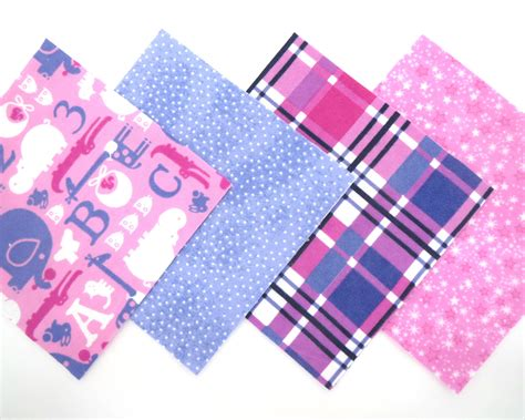 Pre Cut Flannel Quilt Squares by 48 Flannel Rag Quilt Kit 6 Quot X6 Quot Pre Cut Quilt Squares