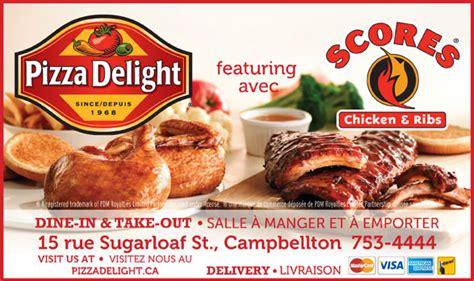 Pizza Delight 15 Sugarloaf St Cbellton Nb Pizza Delight Buffet
