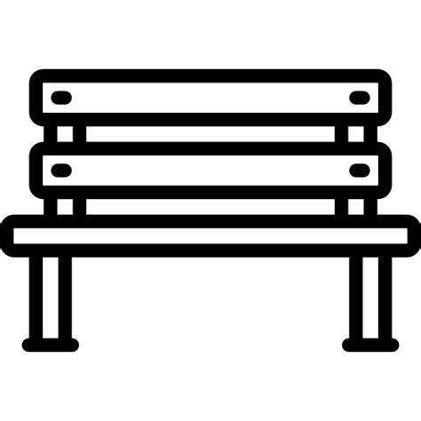 park bench icon bench free other icons