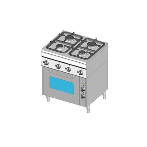 piani cottura con forno piano cottura 4 fuochi gas 70x60 con forno ventilato dom