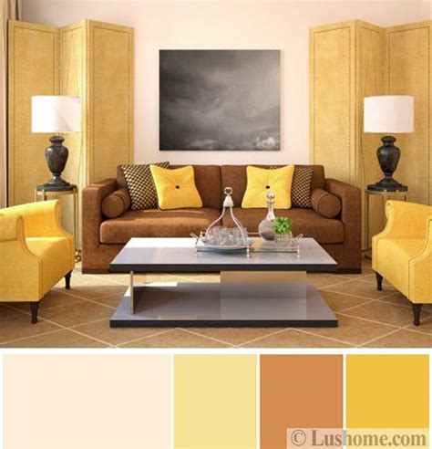 yellow and brown living room sunny yellow and brown colors inspired by delicious and