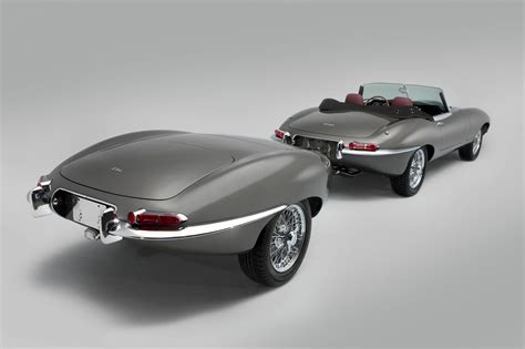 antique jaguar classic motor cars unveils unique jaguar e type