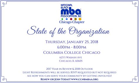 National Black Mba Conference 2018 Location by State Of The Organization Nbmbaa Chicago