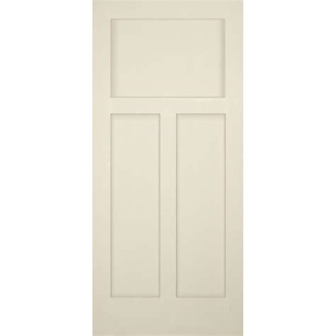 Craftsman 3 Panel Interior Door by Builder S Choice 36 In X 80 In 3 Panel Craftsman Solid