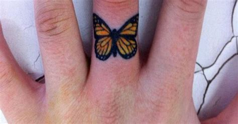 butterfly finger tattoo idea tattoo men ideas tattoos