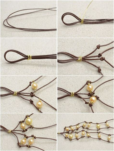 how to make jewelry with leather cord 17 best images about leather jewelry on