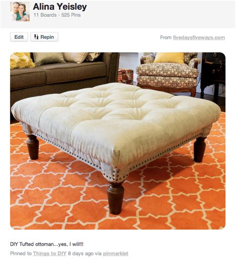 diy tufted ottoman diy tufted ottoman how i did it for 50 my yellow umbrella