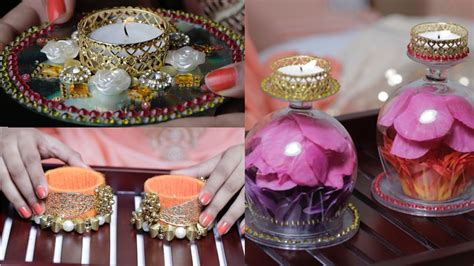 Diwali Decoration Ideas For Home 3 diy diyas to light up your house youtube