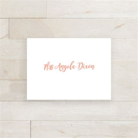 printable folded place cards table name cards by connieandjoan