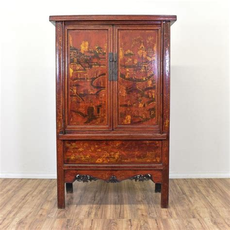 asian armoires this asian inspired armoire is featured in a solid wood