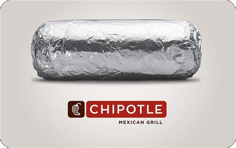 Chipotle Electronic Gift Card - chipotle gift card