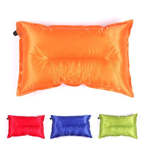 Travelling Products Pillow Air Bantal Angin aliexpress buy colorful self inflating air pillow polyesterpillow travel cing pillow