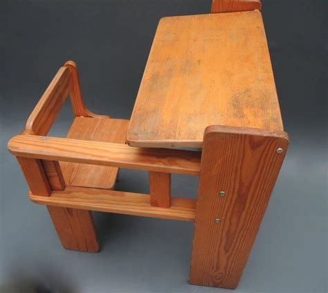 Childs Desk by Mid Century Modern Folding Wood Childs Desk With Integrated Chair For Sale At 1stdibs
