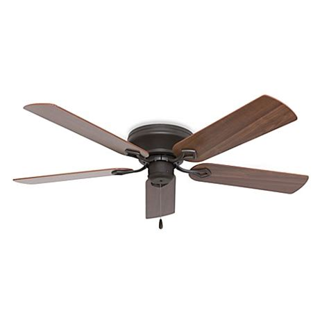 low profile bathroom fan 52 inch hshire low profile bronze ceiling fan bed