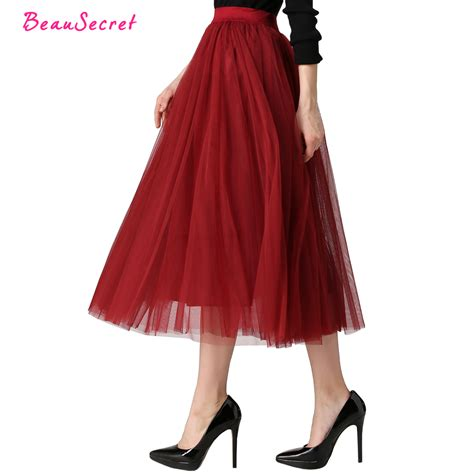 Annbaby 8 H Skirt Rok Korea 2017 autumn winter fashion faldas korean style 8 m big swing maxi skirts womens jupe high