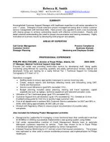 Sle Call Center Manager Resume by Call Center Customer Service Skills Thebridgesummit Co