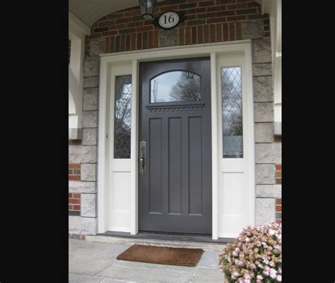 Sidelights For Front Doors Doors Fiberglass Front Door With Sidelights And Combination White Wooden Wall And Brick Wall