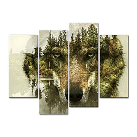 wolf home decor magnificent captivating and alluring wolf wall decor