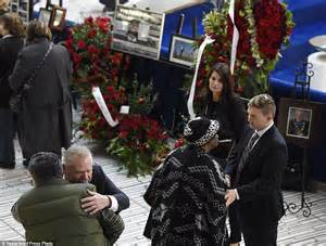 Rob Ford Toronto by Rob Ford S Eulogizes At Funeral Of