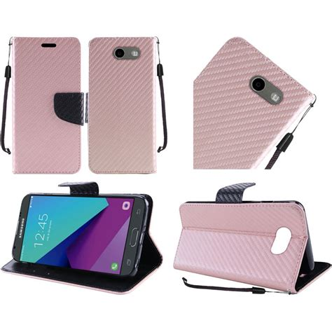 Samsung J3 Pro Softcase Auto Focus Leather Casing Kulit J3pro J330 for samsung galaxy j3 emerge 2017 wallet pouch with id card pocket slots ebay