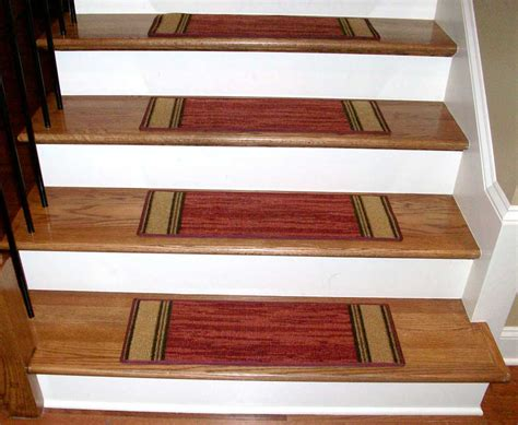rug stair treads washable carpet stair treads boxer terra cotta