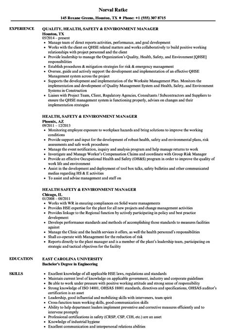 Safety And Occupational Health Specialist Sle Resume by Safety And Occupational Health Specialist Sle Resume Financial Risk Analyst Cover Letter Lot