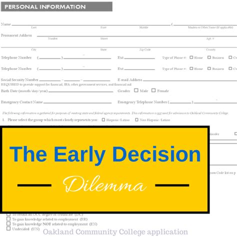 Mba Early Decision Schools the early decision dilemma college admissions counseling
