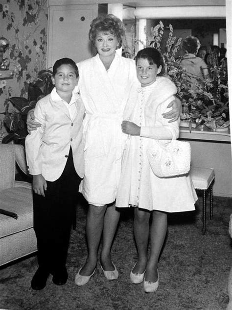 lucille ball and desi arnaz children lucy children desi jr lucy early 1960 s